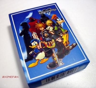 Игральные карты Kingdom Hearts