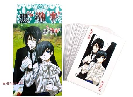 Игральные карты Kuroshitsuji_01