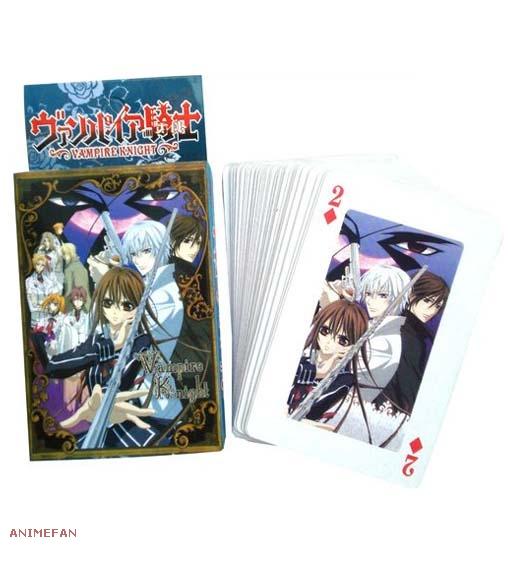 Игральные карты Vampire Knight_01