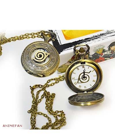 Карманные часы Наруто Коноха_02