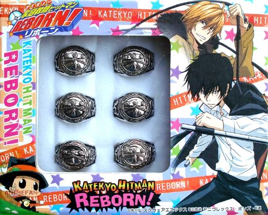 Кольцо Katekyo Hitman Reborn!_02