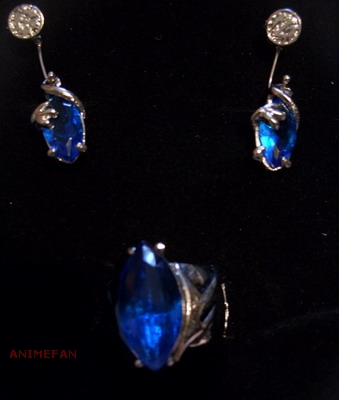 Набор Final Fantasy Blue Crystal Pendant