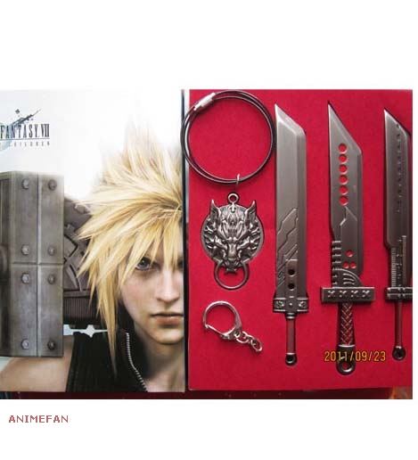 Набор Final Fantasy VII: Advent Children_01