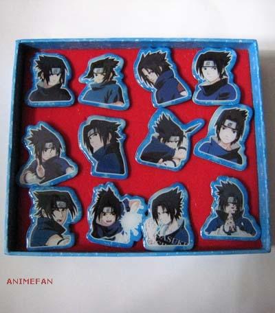 Набор Значков Naruto - Sasuke