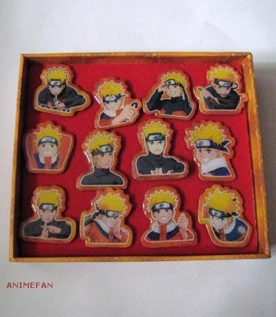 Набор Значков Naruto - Наруто