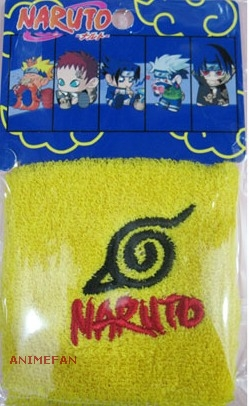 Напульсник Naruto Yellow