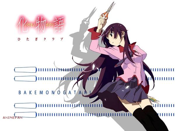 Плакат Bakemonogatari_01