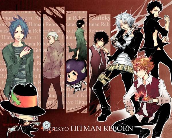 Плакат Katekyo Hitman Reborn!_02