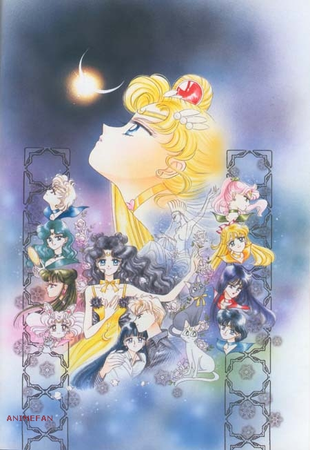 Плакат Sailor Moon_03