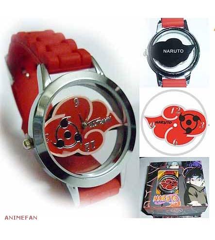 Часы Naruto Akatsuki_01