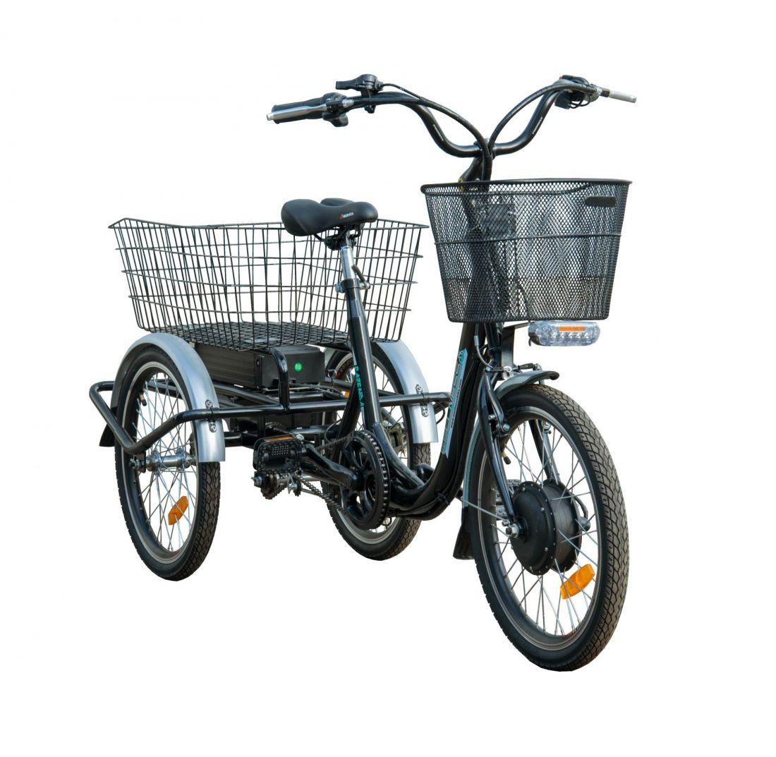 Трицикл - трехколесный электровелосипед FAZENDA 500 (622-01)