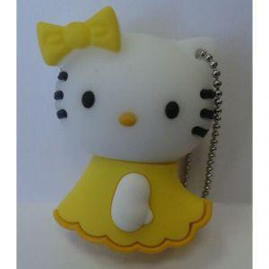 Флешка Hello Kitty желтая