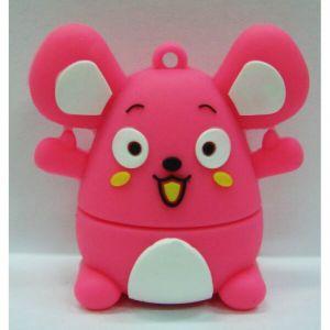 Флешка Мышка розовая