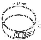 Форма  для торта раскладная  DELICIA 18 см 623250