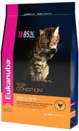 Eukanuba Top Condition Корм для взрослых кошек с домашней птицей (400 г)