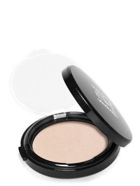 Make-Up Atelier Paris Antishine Compact Iridescent CPSW Snow white Пудра компактная с мерцанием запаска, снежно - белая