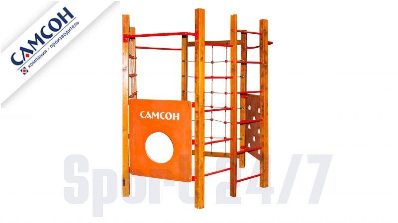 Детская спортивная площадка «Фиджи» (сосна) Самсон