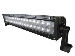 Двухрядная светодиодная LED фара с 4D линзой - 120W CREE