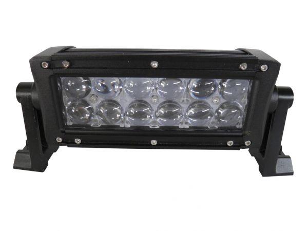 Двухрядная светодиодная LED фара с 4D линзой - 36W CREE
