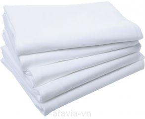 Полотенце 45х90 спанлейс 40г/м2, белое (уп.50 шт.)