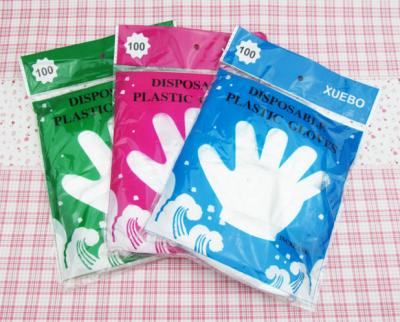 Перчатки полиэтиленовые одноразовые 100шт
