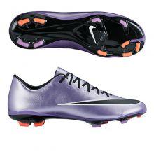 Детские бутсы Nike Mercurial Vapor X FG Junior фиолетовые