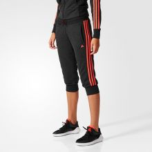 Женские бриджи 3/4 adidas Essentials 3 Stripes 3/4 Pant's чёрные