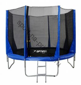 Батут OPTIFIT JUMP 14ft 4,27 м синий