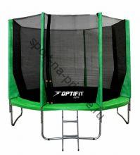 Батут OPTIFIT JUMP 16ft 4,88 м зеленый