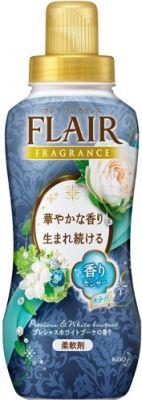 KAO Flair Fragrance Кондиционер для белья с антибактериальным эффектом Floral & Sweet, 570мл