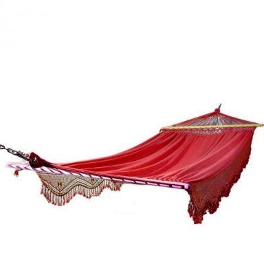 Гамак ТУЛИП (красный) 380смХ165см