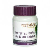 Liv D38 в таблетках для здоровья печени Патанджали Аюрведа / Divya Patanjali Liv D38 Tablets