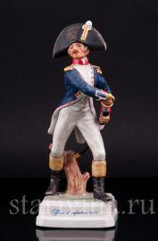 Пехотный офицер, 1812, Goebel, Германия