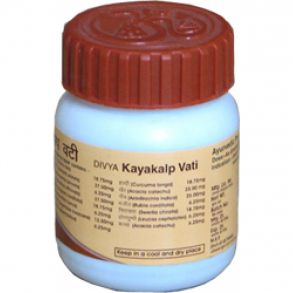 Каякалп Вати/Kayakalp Vati (прыщи, акне, кожные заболевания, удаляет пигментацию, омолаживает кожу)160 таб