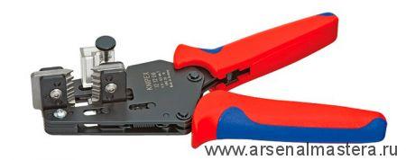 Прецизионные клещи для удаления изоляции с фасонными ножами KNIPEX 12 12 02