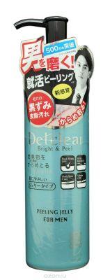 MEISHOKU Очищающий пилинг-гель с AHA и BHA с эффектом сильного скатывания (для мужчин), 180 ml