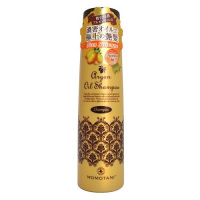 MOMOTANI Шампунь для волос с маслом арганы (без силикона) 290мл