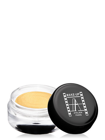 Make-Up Atelier Paris Cream Eyeshadow ESCO Gold Тени для век кремовые золотой песок (золотые)