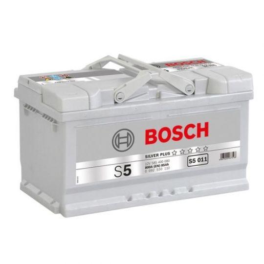 Автомобильный аккумулятор АКБ BOSCH (БОШ) S5 011 / 585 400 080 S5 Silver Plus 85Ач о.п.