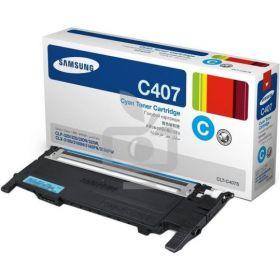 Samsung CLT-C407S оригинальный Samsung Тонер-картридж голубой