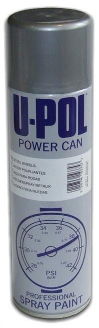 500U-Pol Power Can Эмаль для колесных дисков, 500мл.