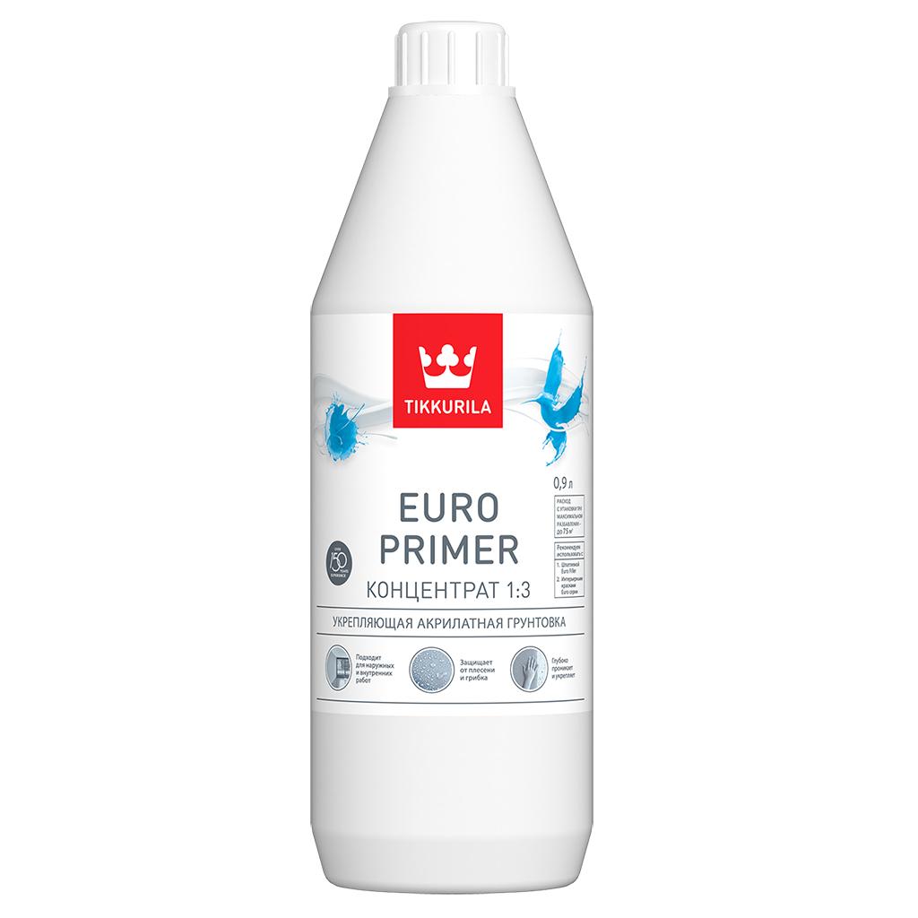Euro Primer - укрепляющая акрилатная грунтовка.