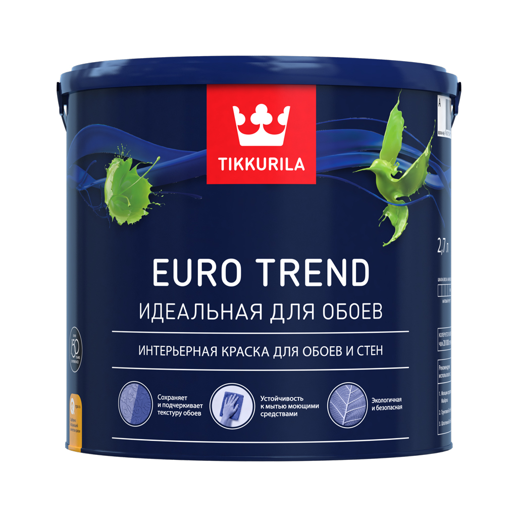 Euro Trend - краска для покраски обоев.