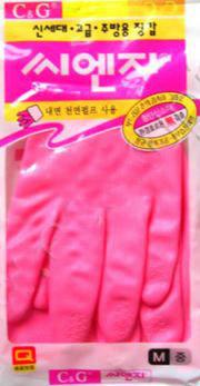 469101 Перчатки из ПВХ с хлопковым напылением размер М, 33см*20,6см