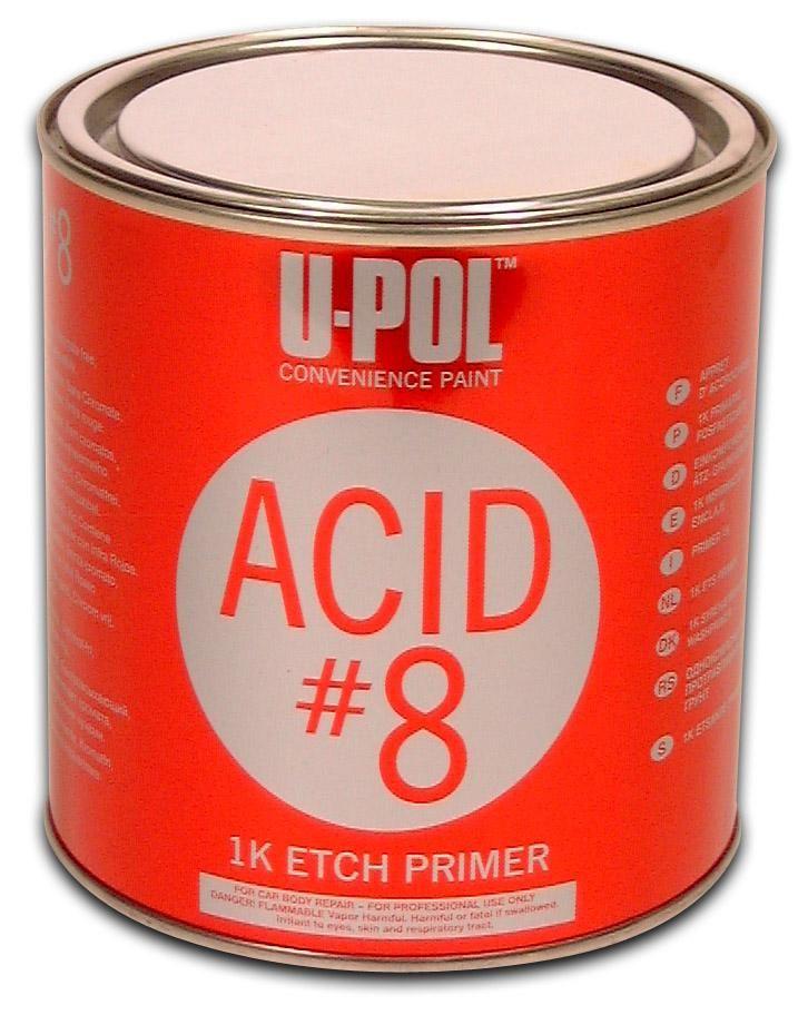 U-Pol ACID 8 Однокомпонентный грунт протравливающий, 1л.