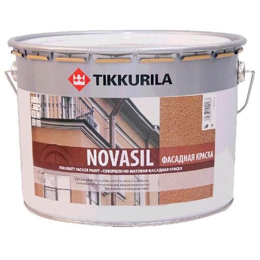 Новасил – щелочестойкая фасадная краска