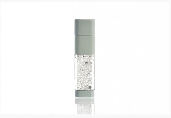 32GB USB-флэш накопитель UsbSouvenir UL-5016 стеклянный, корпус белый, кристал белый
