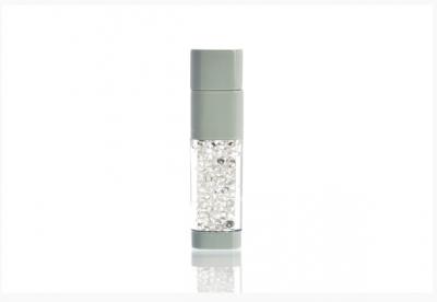 32GB USB-флэш накопитель UsbSouvenir UL-5016 стеклянный, корпус белый, кристалл белый