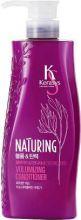 Kerasys Кондиционер для волос Naturing Объём и Эластичность с морскими водорослями Hair conditioner с дозатором 500 мл