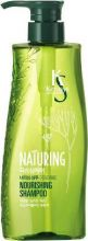 Kerasys Шампунь для волос Naturing Питание с морскими водорослями с дозатором 500 мл